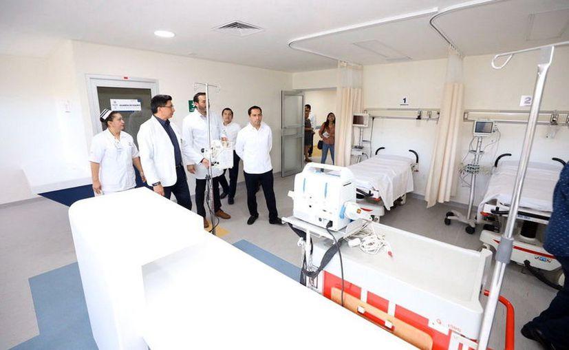 El Gobernador destinó este año 137.5 millones de pesos para mejorar las instalaciones de 51 unidades médicas en Yucatán. (Novedades Yucatán)