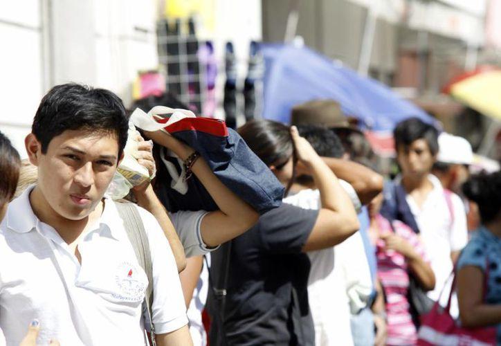 En los últimos días se han registrado temperaturas por arriba de los 35 grados. (Christian Ayala/SIPSE)