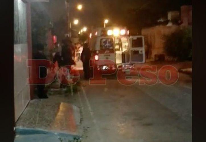 El incidente se reportó alrededor de las 21:320 horas. (Redacción/SIPSE)