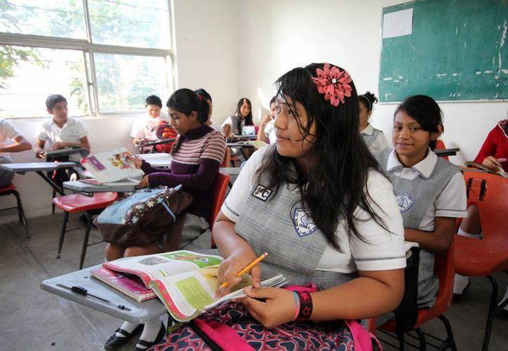 Unos 175 millones de jóvenes, es decir una parte de la población juvenil, no son capaces de leer una oración completa, advierte Unesco. (Notimex/Archivo)
