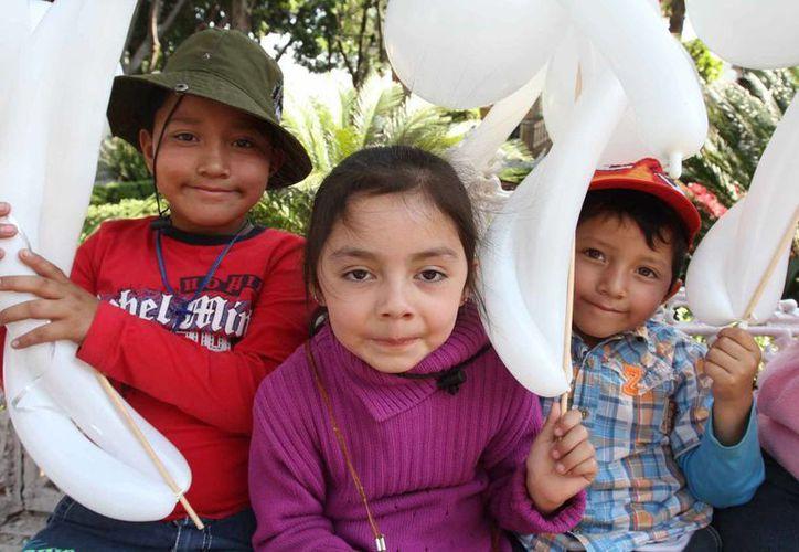 La SSA indicó que con el Programa Arranque Parejo en la Vida ofrece igualdad de oportunidades en crecimiento a los infantes. (Archivo/Notimex)