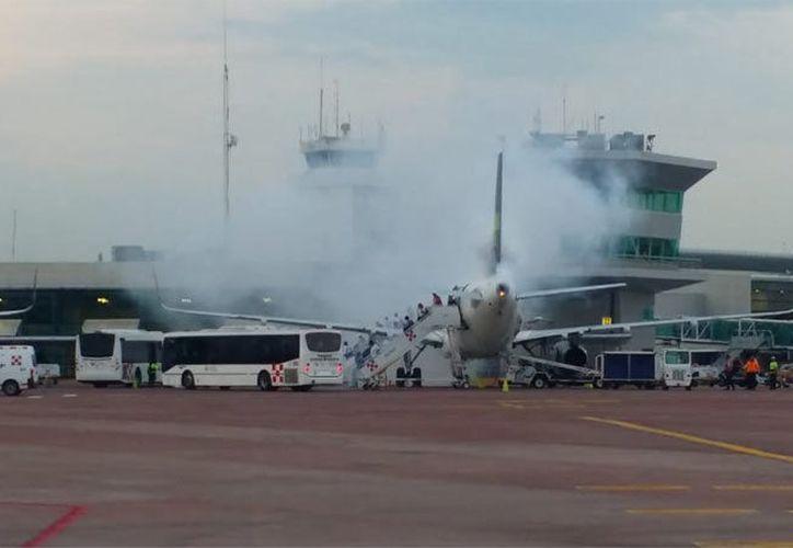 La aerolínea dio su postura a través de un comunicado en su cuenta de Twitter. (Unotv)