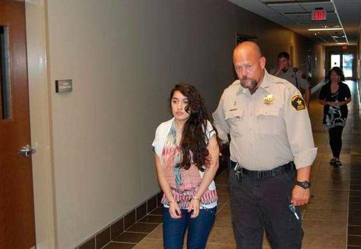 Maricela Díaz fue sentencia a pasar 80 años de cárcel por el homicidio de Jasmine Guevara. (archive.argusleader.com)