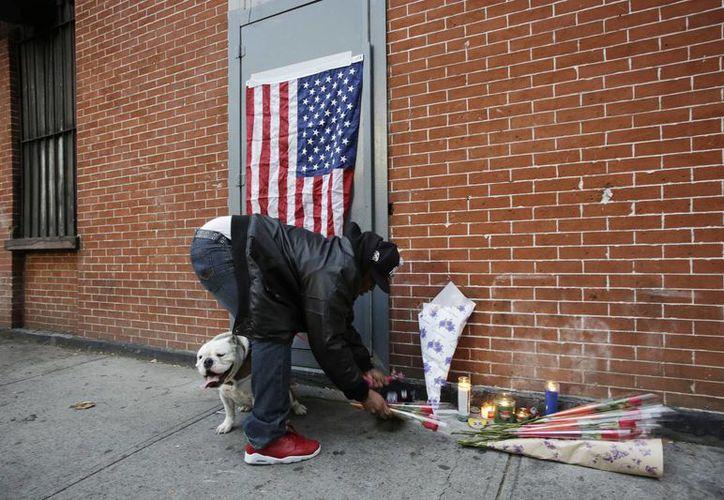 Nueva York vive un clima tenso tras la muerte del afroamericano Eric Garner a manos de policías de raza blanca. (AP)