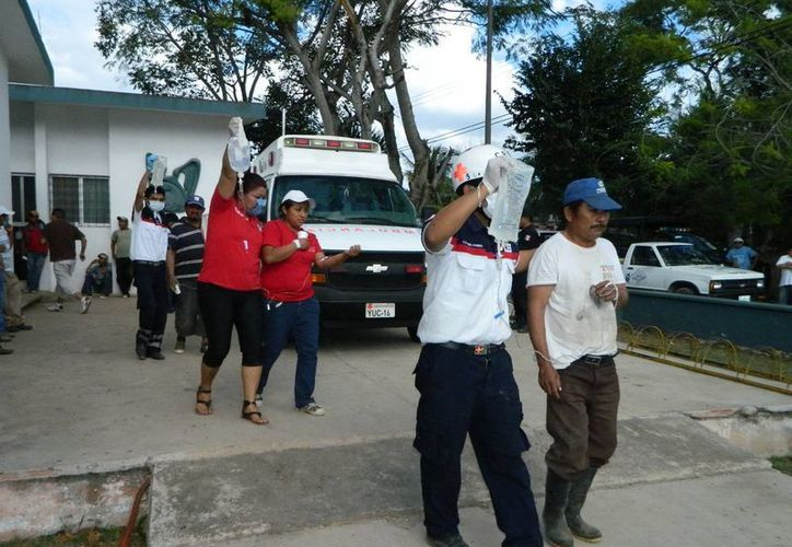 La familia fue atendida en el Hospital General Agustín O' Horán y se trató de una intoxicación leve. (Foto contexto de archivo SIPSE)