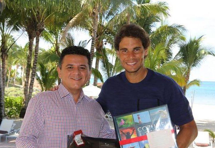 El tenista arribó a Cozumel desde el viernes 26 de febrero hasta el martes 1 de marzo. (Redacción/SIPSE)