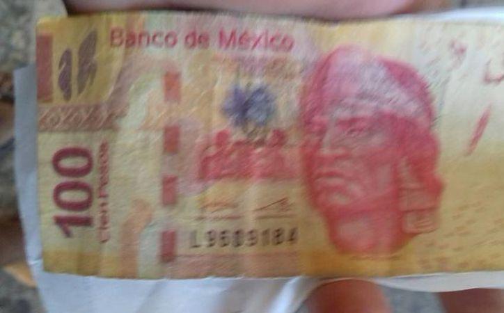 Billetes de $100 falsos circulan en Chetumal. (Redacción/SIPSE)