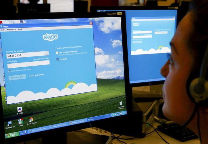 El problema identificado generaba 'dificultades' al tratar de iniciar sesión en Skype. (Archivo/EFE)
