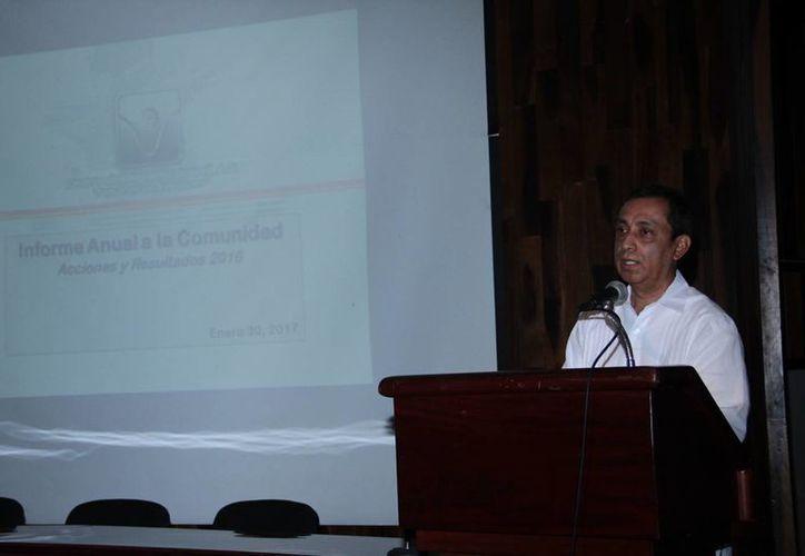 Victor Roa Muñoz, director del Centro de Integración Juvenil (CIJ) en Yucatán, alerta sobre el aumento en el consumo de drogas en el estado. (Jorge Acosta/SIPSE)