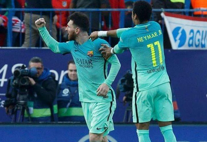 Lionel Messi y Neymar no podrían jugar la final de la Champions, que se celebrará en Cardiff, debido a sus problemas con la justicia.(Archivo/AP)