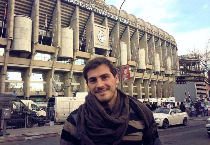 Si no hay imprevistos, Iker Casillas jugará con el Real Madrid el 2 de octubre, cuando se enfrenten al Copenhague, en el Santiago Bernabéu. (@IkerCasillasES)