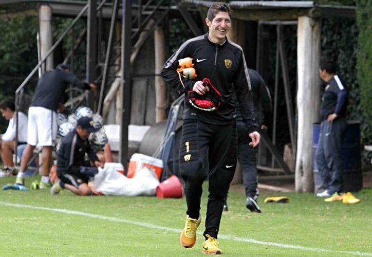 El portero Alejandro Palacios se perderá prácticamente todo el siguiente torneo de la Liga Mx debido a una lesión de hombro. (Foto de archivo de Notimex)
