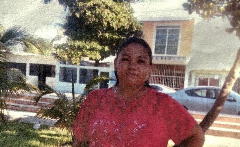Candy del Rosario García Lezama vive en Cancún, sin embargo su esposo la está intentando ubicar y cree que está en Mérida. (SIPSE)