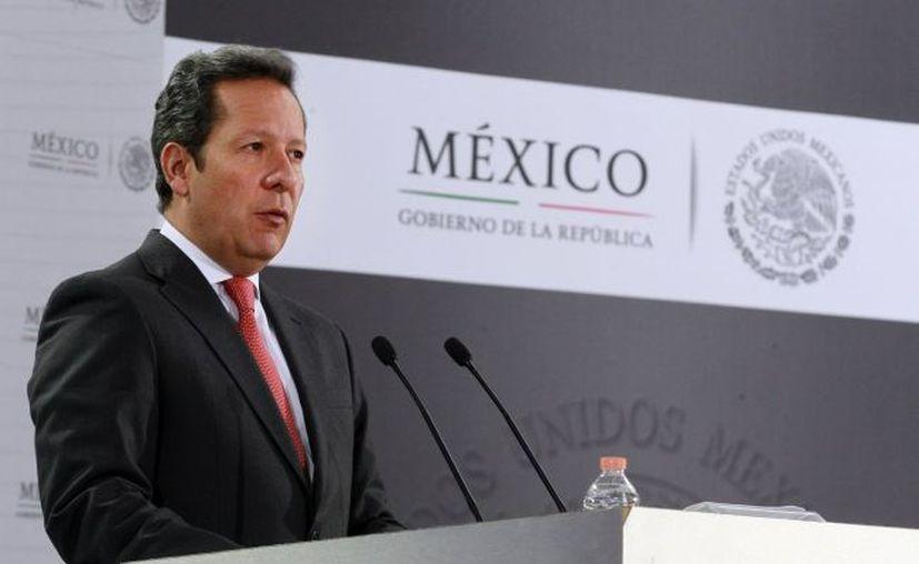 Eduardo Sánchez, vocero de la Presidencia de México. (Notimex)
