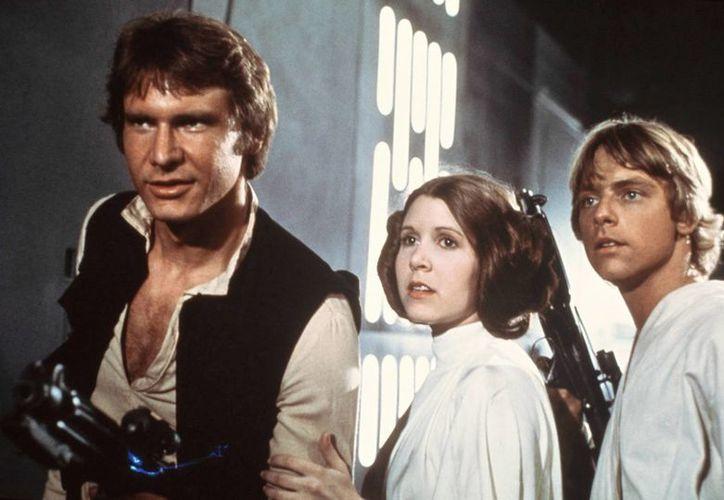 Ford (izq.), en una escena de Star Wars. (Agencias)