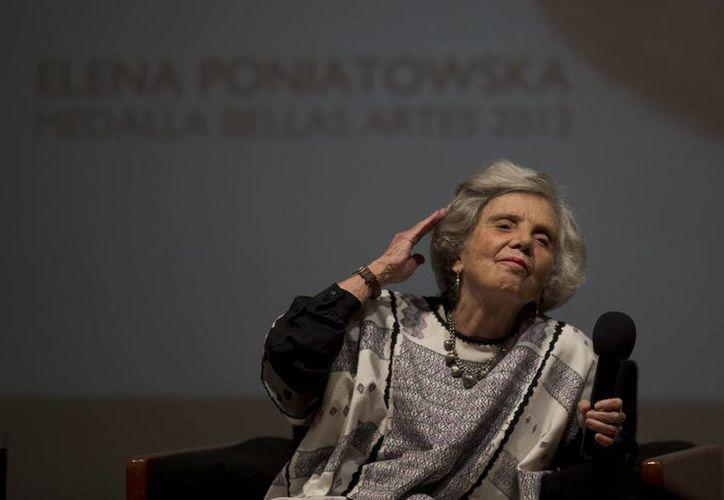 Poniatowska es apenas la cuarta mujer en recibir el Premio Cervantes desde que se creó, en 1976. (Foto: AP)