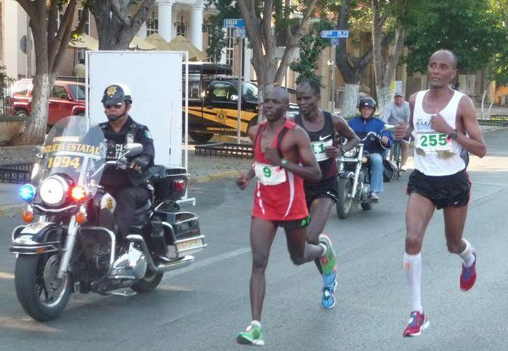 Los atletas del Continente Negro han ganado las últimas ediciones del Maratón de la Ciudad de Mérida. (SIPSE)