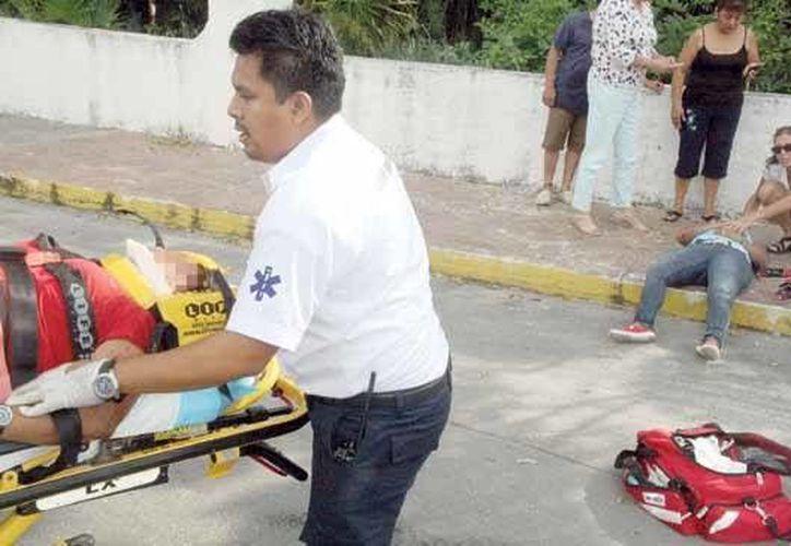 La mujer, que se accidentó el lunes, murió a causa de un traumatismo craneoencefálico severo. (Irving Canul/SIPSE)
