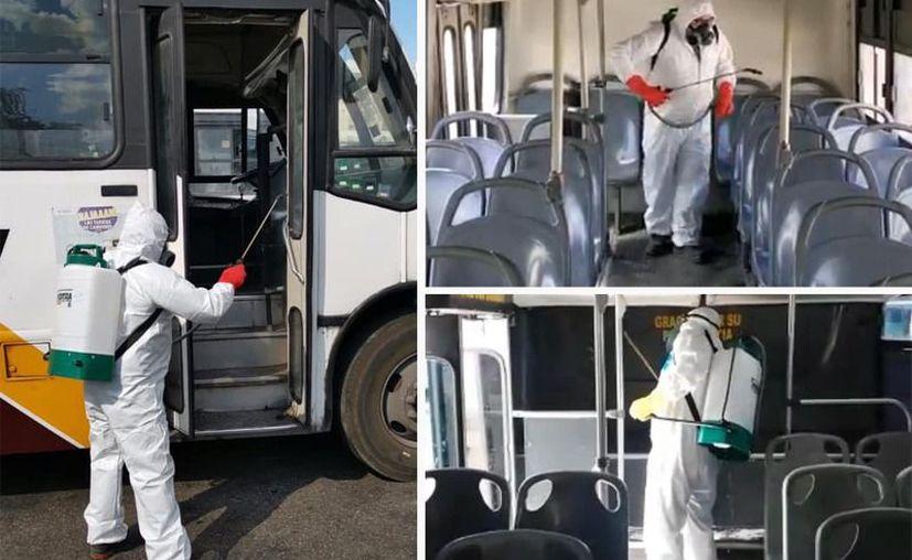 La limpiezas se realizan en coordinación con los concesionarios del transporte público. (Especial)