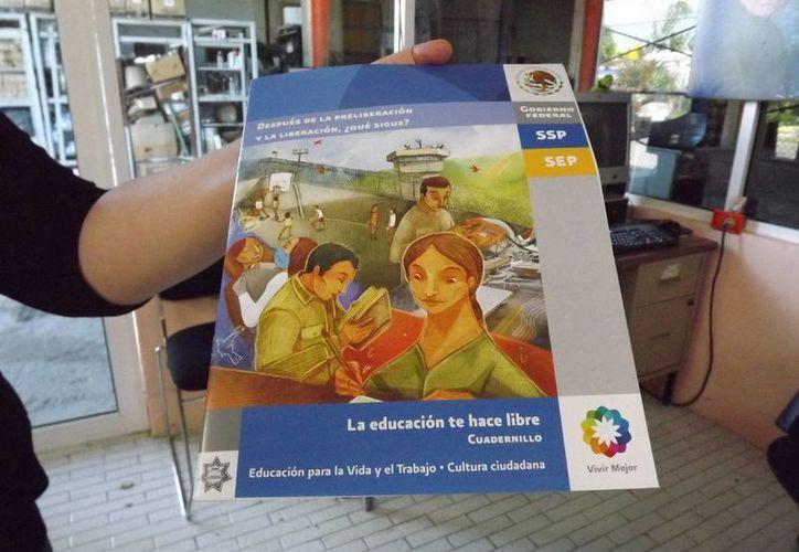 Las autoridades educativas ya se encuentran dando atención a los reos de cinco cárceles de Quintana Roo. (Gerardo Amaro/SIPSE)