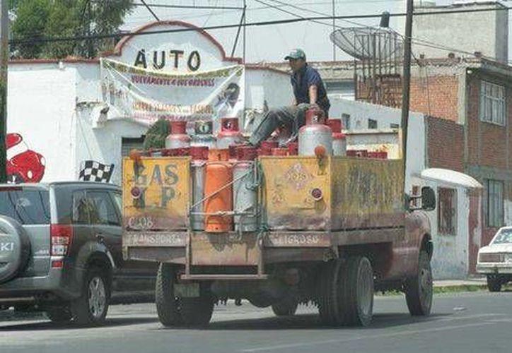 Durante este mes, el precio del cilindro de mayor uso en los hogares poblanos fue de 239.17 pesos. (Milenio/Contexto)
