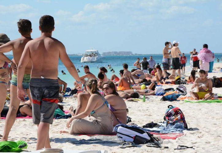 El trabajo de las autoridades se refleja en el incremento de turistas. (Victoria González/SIPSE)