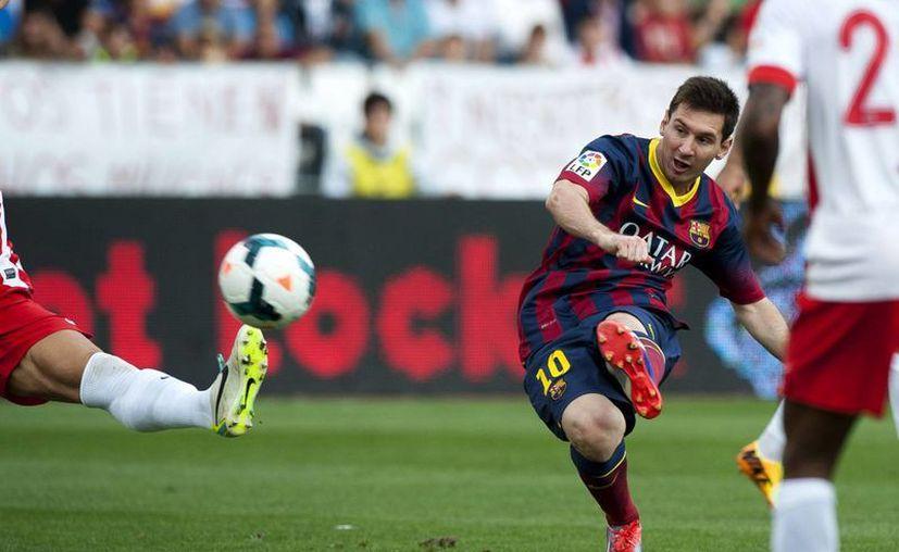Messi tiene lesión muscular en el bíceps femoral del muslo derecho. (Foto: Agencias)