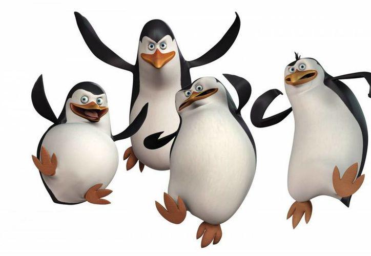 Los Pingüinos de Madagascar es una de las películas que se proyectán en las matinés infantiles de abril. (asdecopas.cl)