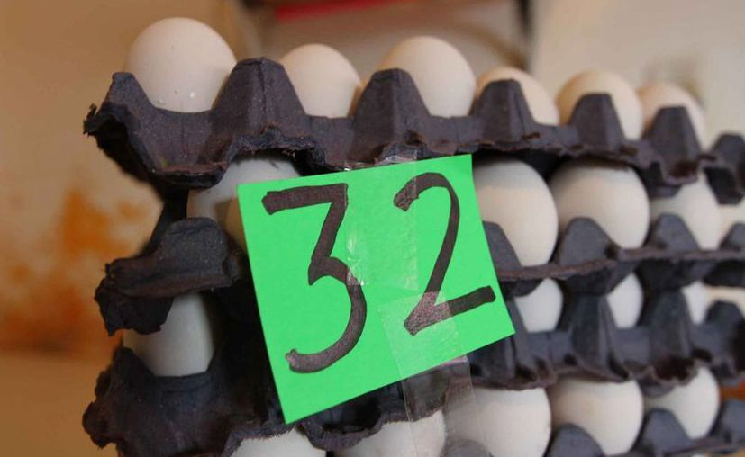 El huevo es uno de los productos cuyo precio entra en la verificación. (Notimex)