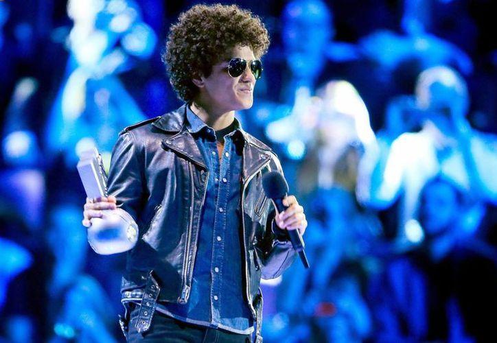 El cantante estadounidense Bruno Mars tiene una fecha confirmada en México para el 2 de septiembre de 2014. (EFE/Archivo)