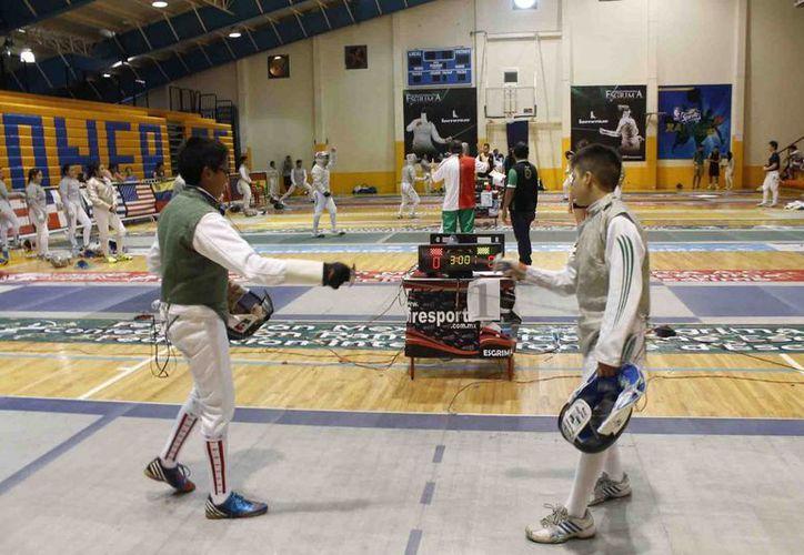 Las competencias infantiles y cadetes llegaron a su fin. (Raúl Caballero/SIPSE)