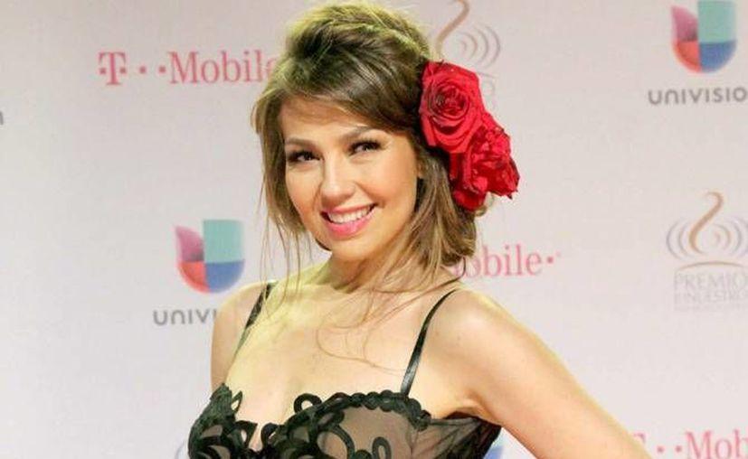 El disco nuevo de Thalía llega a las tiendas el próximo seis de mayo. (Notimex)