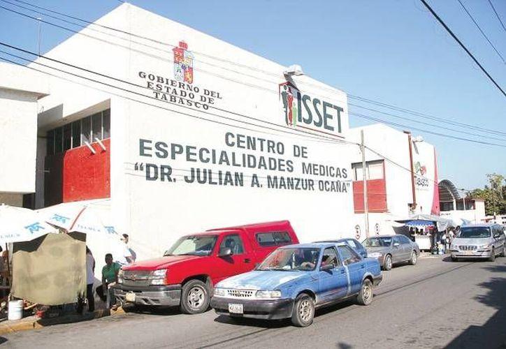 El titular del ISSET indicó que en la clínica donde ocurrieron los hechos no existen cámaras de seguridad. (diarioavancetabasco.com)
