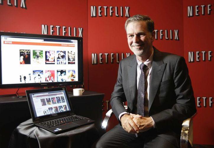 Ya no será necesario una conexión a internet para seguir viendo tu serie favorita en Netflix. Imagen de contexto de Reed Hastings, fundador y presidente de Netflix. (AP/Archivo)