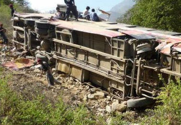 El autobús había partido con 43 pasajeros de la remota localidad de Huamachuco hasta la capital regional de Trujillo. (Archivo/EFE)