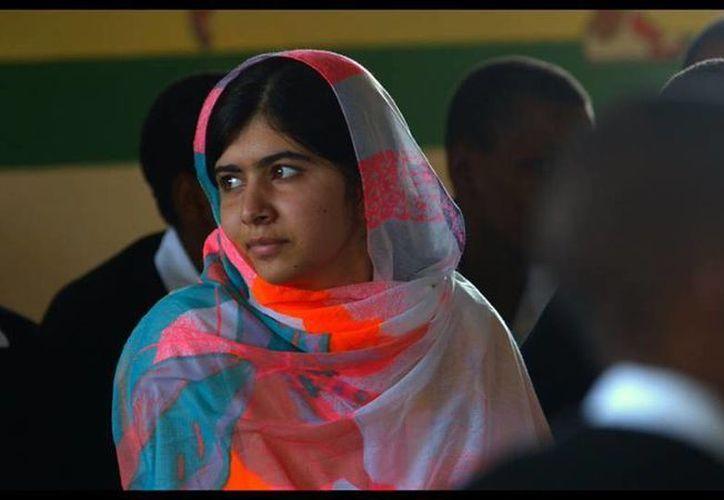 Malala Yusufzai habló durante sobre la desición de Donal Trump en contra de los refugiados. (facebook.com/MalalaFund)