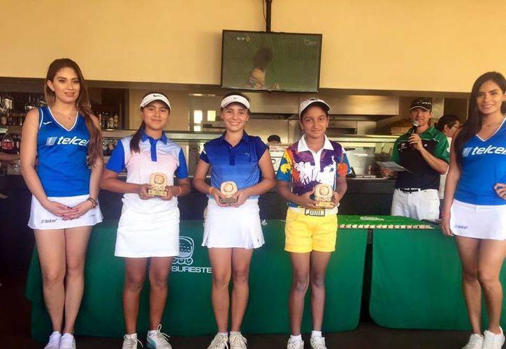 El Yucatán Country Club ganó en cinco categorías de la tercera etapa de la Gira Regional Infantil y Juvenil de la Asociación de Golf del Sureste. (SIPSE)
