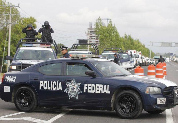 El INEGI informó que a partir de 2015 se incorporaron por primera vez en la ENSU preguntas sobre el desempeño de la Policía Federal y la Gendarmería Nacional. (Archivo/Notimex)