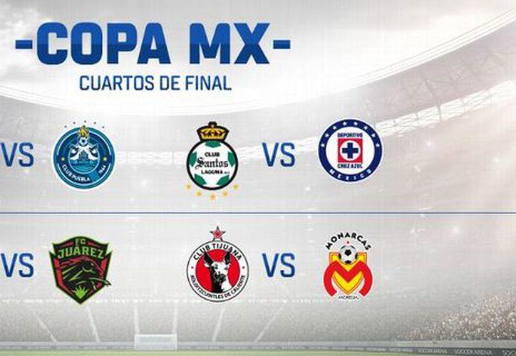 Para cerrar los cuartos de final de la Copa MX, será Guadalajara se enfrentará contra Bravos de Ciudad Juárez. (ESPN Digital).