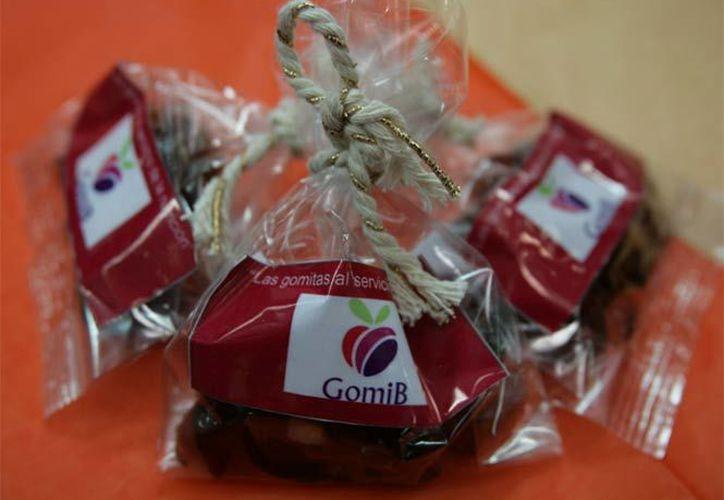Las gomitas contienen ponche de frutas enriquecidas con vitaminas B, C y antioxidantes. (Twitter: @IPN_MX).