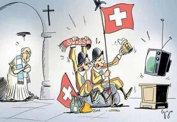 La cuenta de Comunicación del Vaticano se sumó a la broma del Papa con esta imagen. (Tomada del Twitter de Comunicación del Vaticano @PCCS_VA)