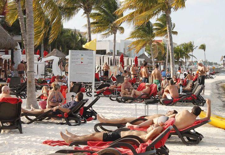 El estadounidense sigue como el principal mercado para este destino turístico. (Jesús Tijerina/SIPSE)