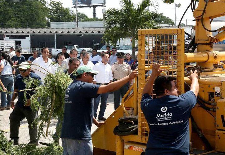 El Ayuntamiento se encuentra preparado en caso de peligro por huracán. (Milenio Novedades)