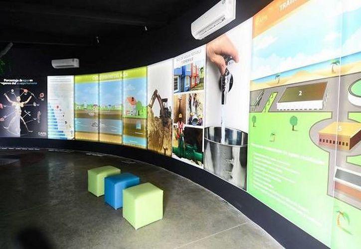 El Museo del Agua cumplió su primer año de operación. (Redacción/SIPSE)