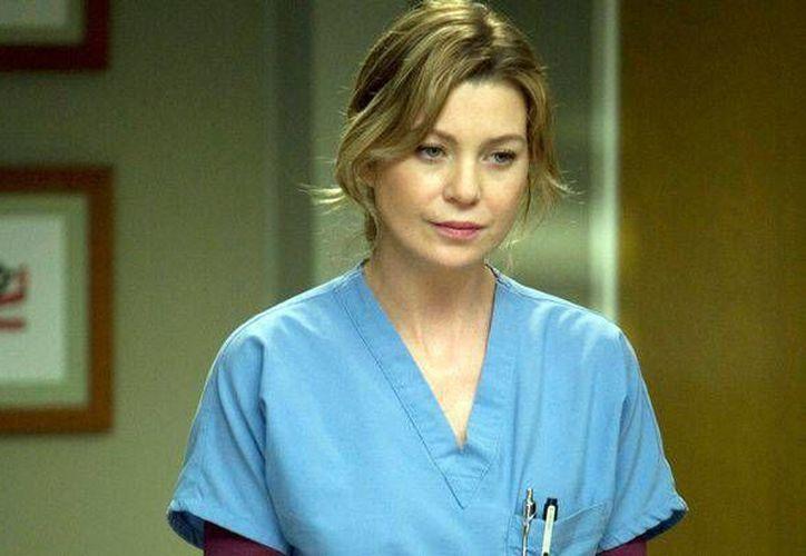"""La serie televisiva """"Greys Anatomy"""" (foto) es una de las que llega a su final de temporada el lunes, en la foto aparece la actriz Ellem Pompeo. (Foto: walesonline.co.uk)"""
