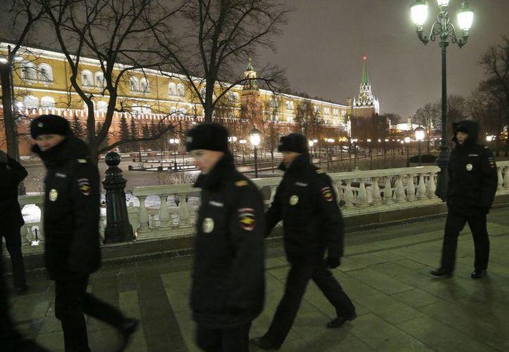La policía rusa recibió llamadas de aviso de bomba en dos estaciones ferroviarias ede Moscú. (EFE)