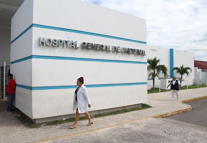 Las áreas de Lavandería y Servicios generales son las que se están rehabilitando en el hospital general. (Joel Zamora/SIPSE)