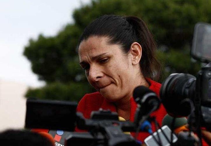 Ana Gabriela Guevara hizo un llamado de atención a las autoridades para frenar la violencia. (Excélsior)