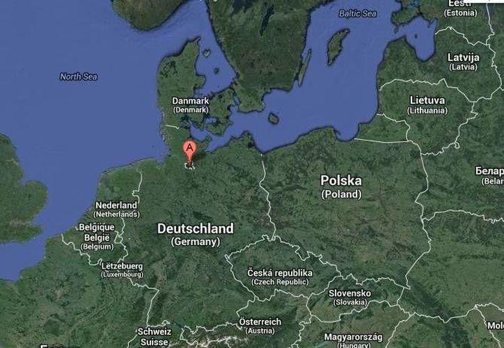 Además de las tres víctimas mortales, otras 27 personas del asilo resultaron heridas en el incendio en el asilo de Hamburgo. (Google Maps)