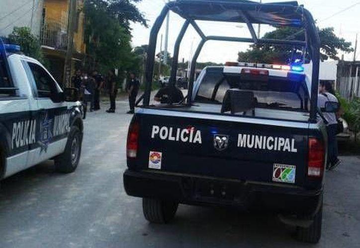 La policía logró detener al padre de familia en la Región 248. (Archivo/SIPSE)